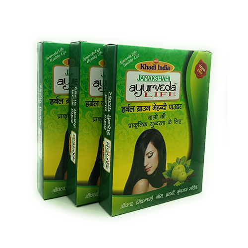 Janakshahi Brown Hair Pack 150 gm