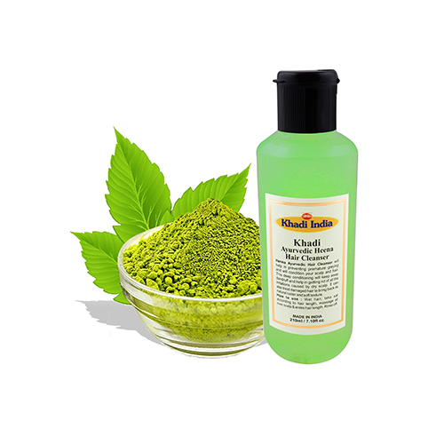 Khadi India Ayurvedic Heena Hair Cleanser 210 ml