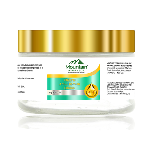 Mountain Ayurveda Natural Anti- Blemish Creme 50 gm