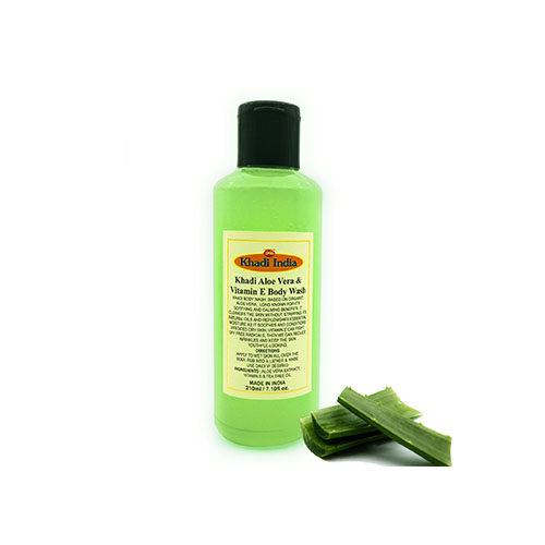 Khadi Aloe Vera VIT E Body Wash 210 ml