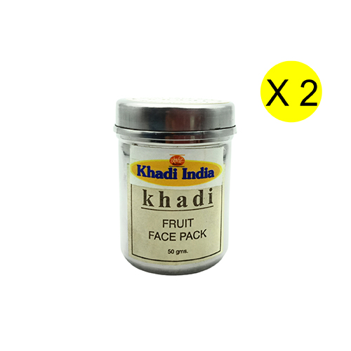 Khadi Fruit Face Pack 50 gm (Pack of 2)
