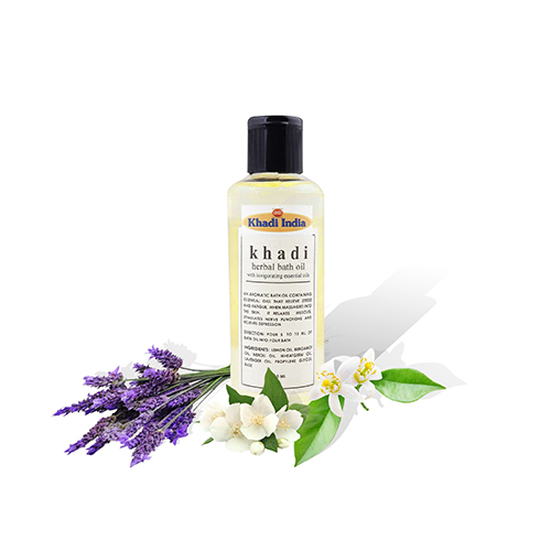 Khadi Bath Oil with Invigorating Essential Oil 210 ml